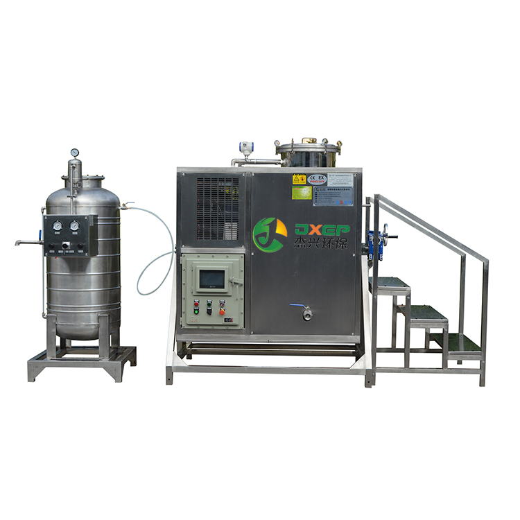 Safety point of solvent recovery machine and accident of solvent recovery machine